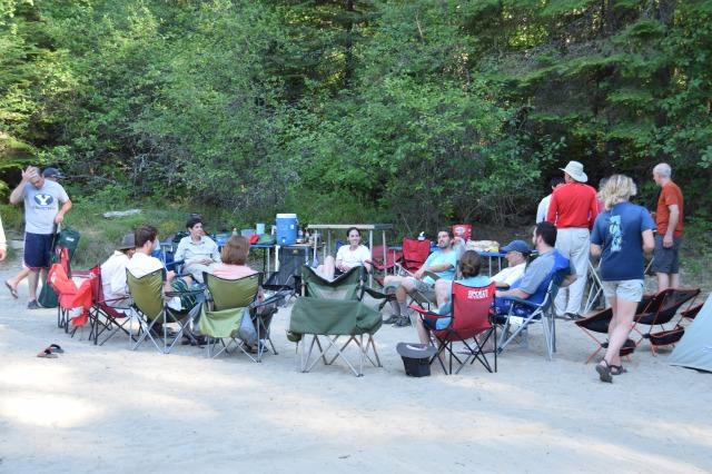 Magpie Creek campsite